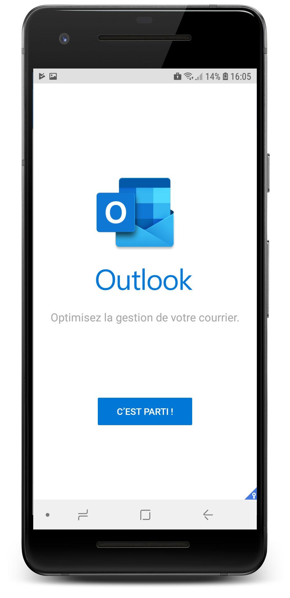 Configuration Exchange Outlook