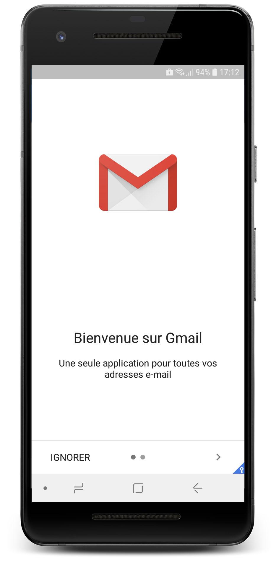 Configuration Exchange Gmail
