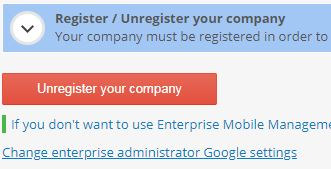 unregister business