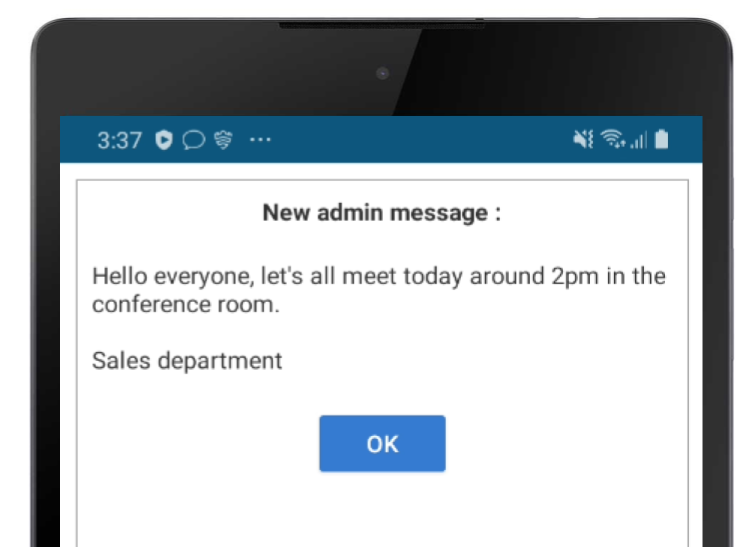 messages device
