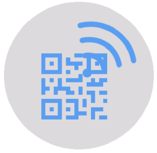 wifi integrated in QR code